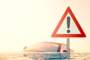 signs of water damage in cars